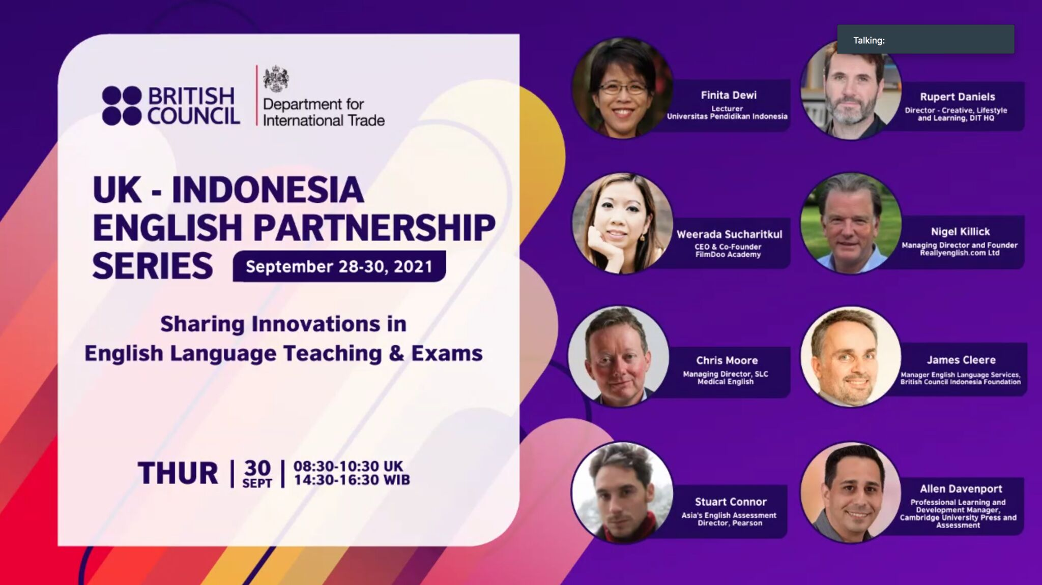 SLC UK-INDONESIA EVENT