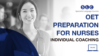 OET PREPARATION FOR NURSES - individual coaching