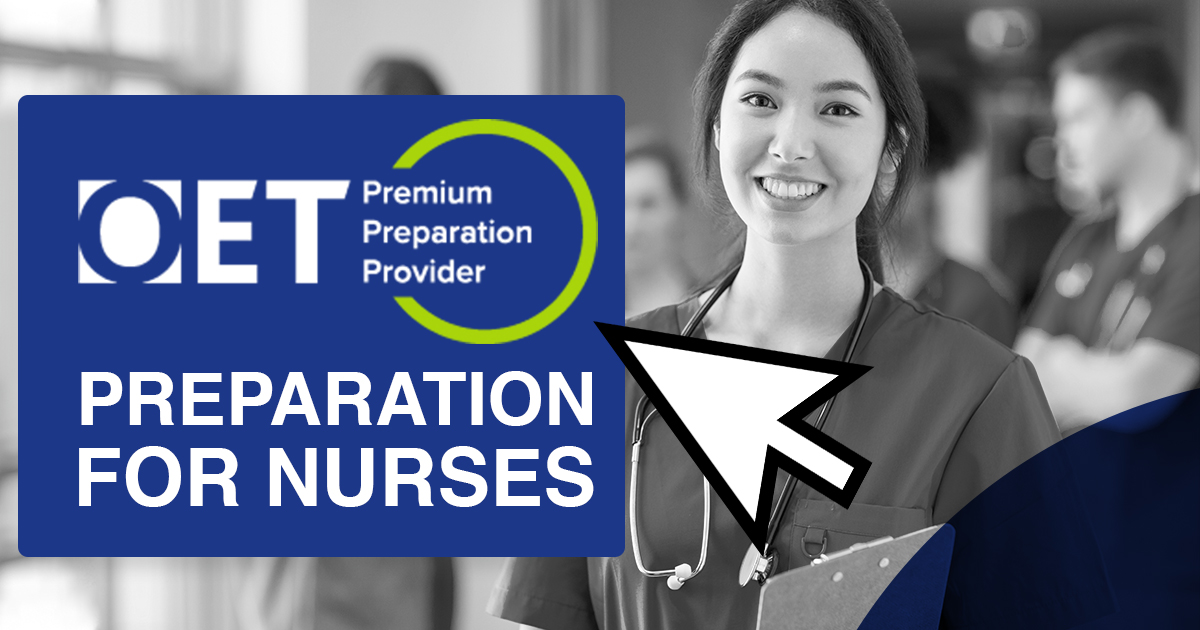 OET PREPARATION FOR NURSES